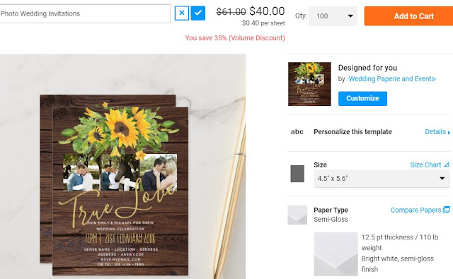 cheapest wedding invitations ever