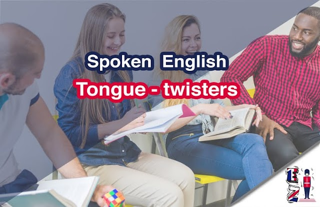 Spoken English : tongue-twisters