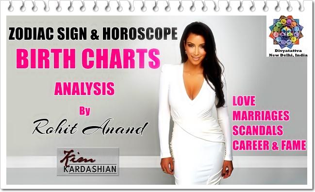 Kim Kardashian Love Horoscope, kim kardashian pisces moon kim kardashian vedic chart, & Birth chart Compatibility, Kundali matching