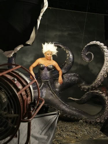 Queen Latifah Annie Leibovitz The Little Mermaid animatedfilmreviews.filminspector.com