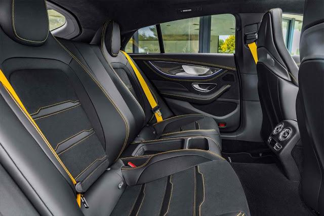 Mercedes AMG GT 4-Door Coupe Top Speed