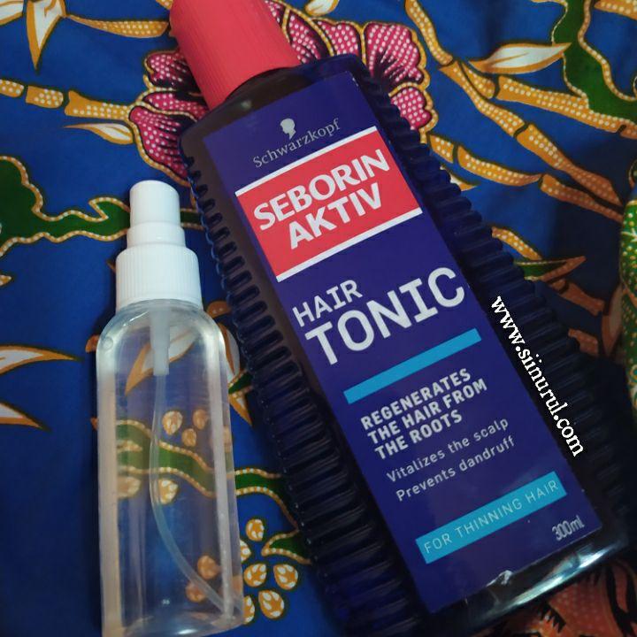Review SEBORIN Activ Hair Tonic 300ml Untuk Rambut Gugur
