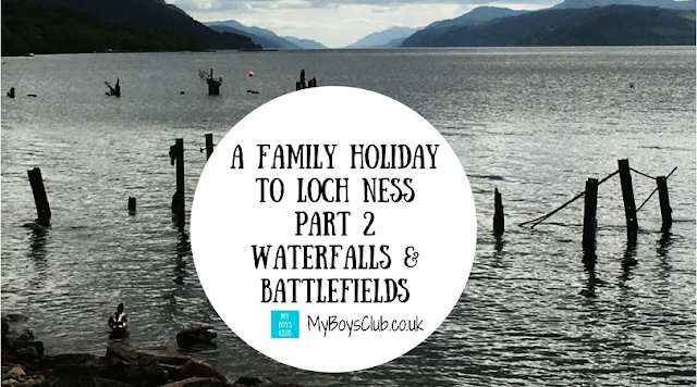 Family Holiday to Loch Ness falls of foyer, culloden battlefield, dores, fort augustus