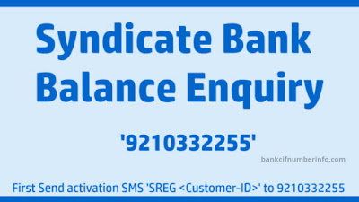Check Syndicate balance by SMS