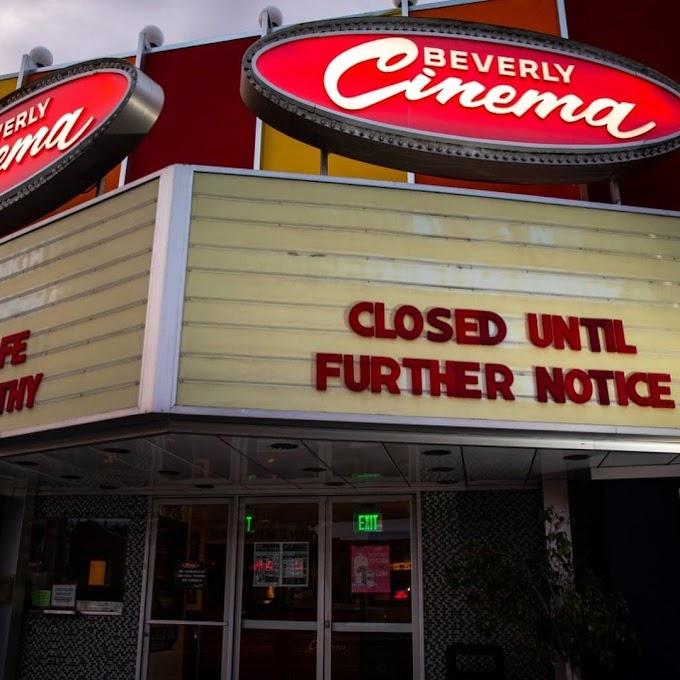 映画館に出かけて、映画を観るのは新型トランプに感染する凖最高レベルに近い危険行為ですから、おやめくださいと、テキサス州の医師会が警告‼️😔