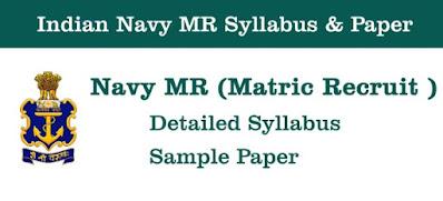 Navy mr syllabus
