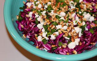 Red Cabbage Salad (Kirmizi Lahana Salatasi)