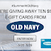 Win a $50 Old Navy Gift Card - 10 Winners. Limit One Entry Per Person, Ends 5/29/20 - Short 3 Day Giveaway.