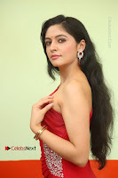 Actress Zahida Sam Latest Stills in Red Long Dress at Badragiri Movie Opening .COM 0008.JPG