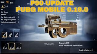 سلاح P90 ببجي موبايل