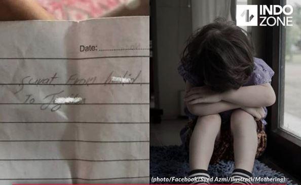 Bocah 11 Tahun Bunuh Diri Minum Cairan Pembasmi Karena Ketahuan Buat Surat Cinta