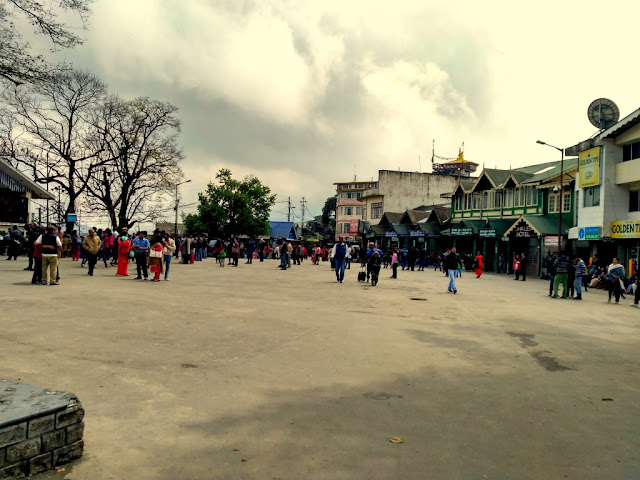 Chowrasta, Darjeeling