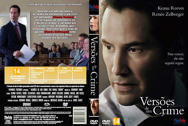 Capa DVD Versões De Um Crime