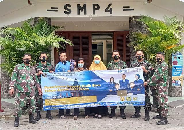 Sosialisasi PPDB SMA Pradita Dirgantara ke SMP se Surakarta