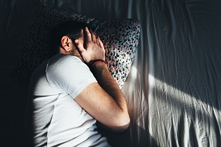 Indisciplined sleeping is one of the characteristics of clinical depression