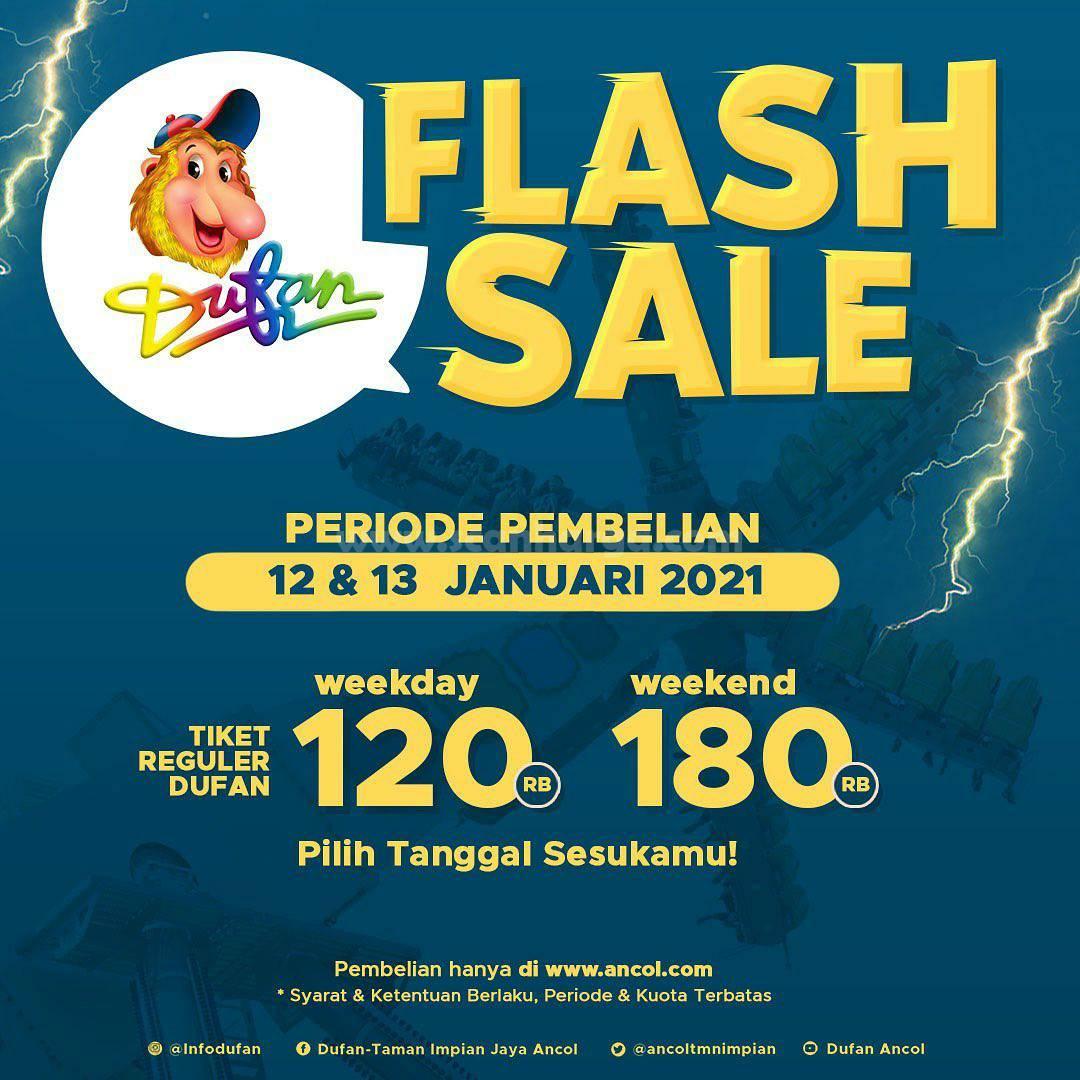 DUFAN FLASH SALE! Harga Spesial Tiket Regular mulai Rp 120.000 per orang