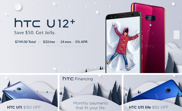 HTC offers up to $150 off select smartphones