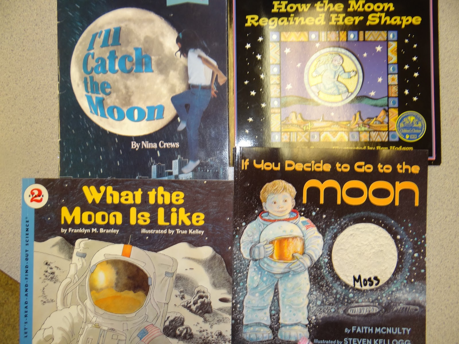 Patties Classroom Phases Of The Moon And The Night The Moon Fell