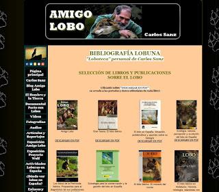 http://www.carlossanzamigolobo.com/bibliografialobuna.html