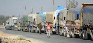 Milisi Syiah Rampok Konvoi Bantuan PBB untuk Lingkungan Al-Wa'ar di Homs