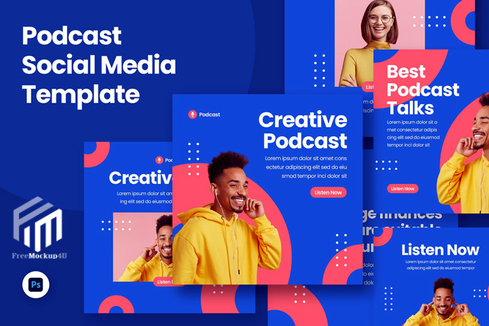 Cotalks Podcast Social Media Template