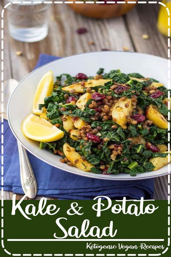 Potato Salad with Lemon Dijon Dressing  Kale & Potato Salad