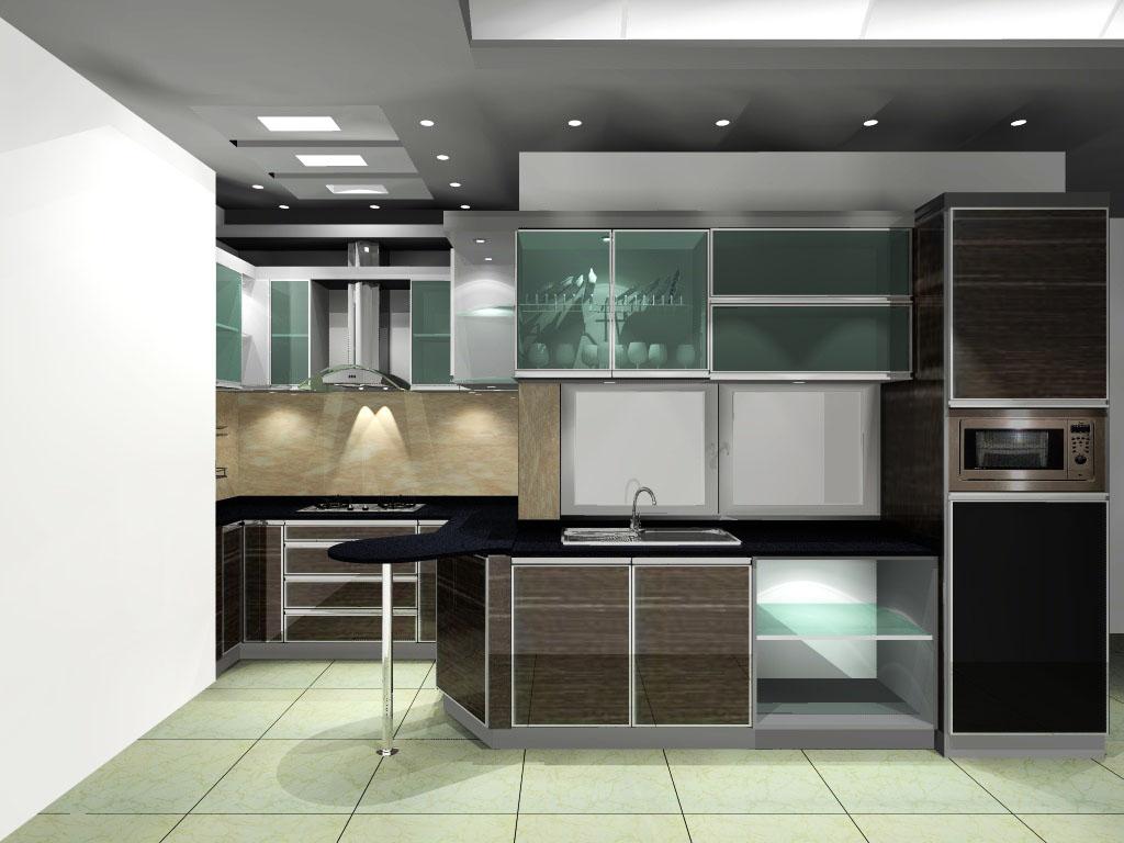 Kitchen Set Aluminium Baja Ringan Murah Jakarta Gypsum Murah