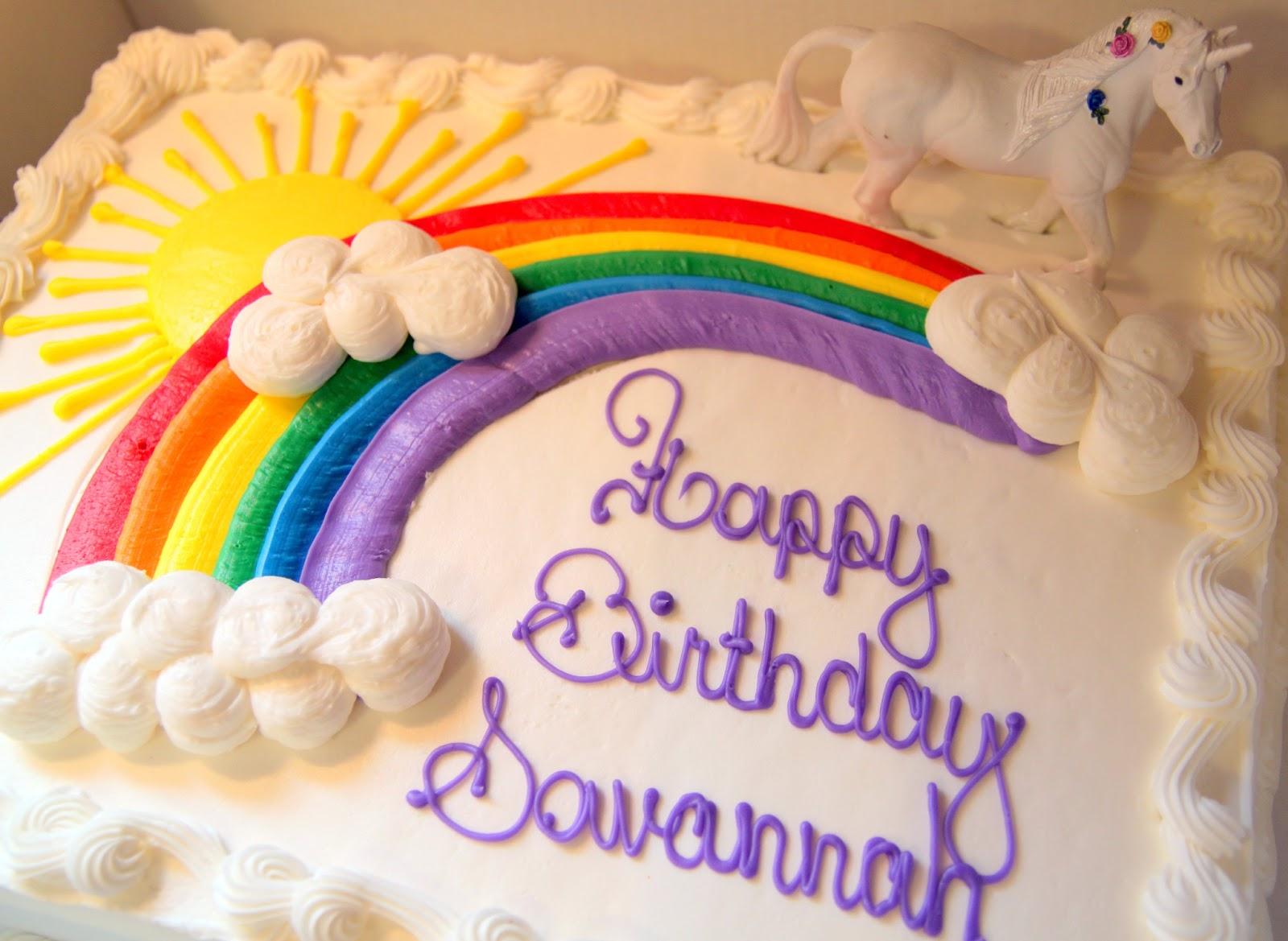 Pin Costco Rainbow Cake Cake On Pinterest