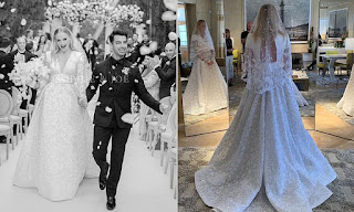 Game of thrones star Sophie Turner is breathtaking as she shares the first photos from her second wedding to Joe Jonas