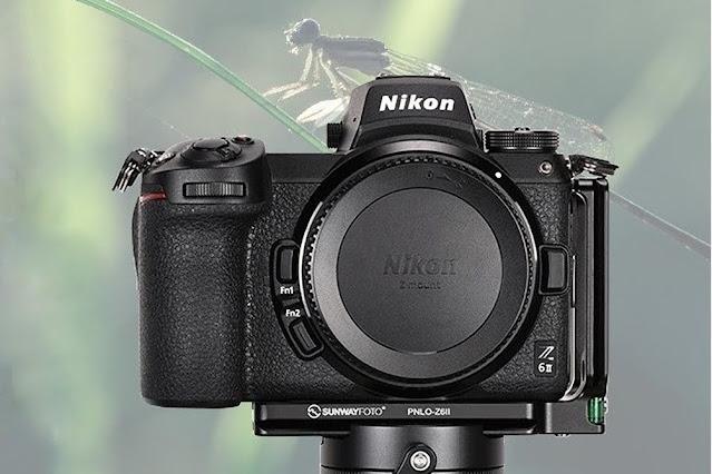 Sunwayfoto PNLO-Z6II L Bracket on Nikon Z6II