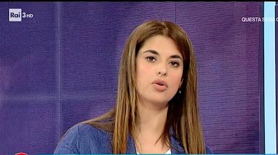 benedetta Rinaldi conduttrice tv elisir 24 maggio