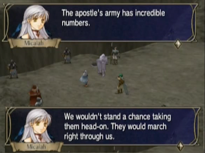 Fire Emblem Radiant Dawn The Price Micaiah Daein tactics oil rocks chapter 3-12