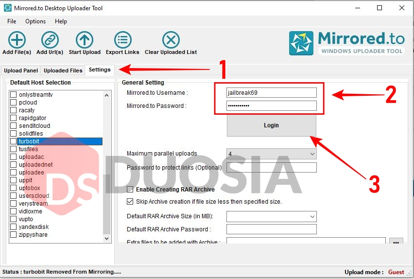 download mirrored.to windows
