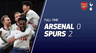 Arsenal vs Tottenham Hotspur 0-2 Full Highlights.