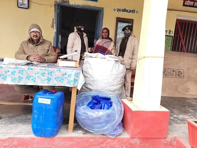 नकली सामान की बिक्री करने के आरोपी गिरफ्तार