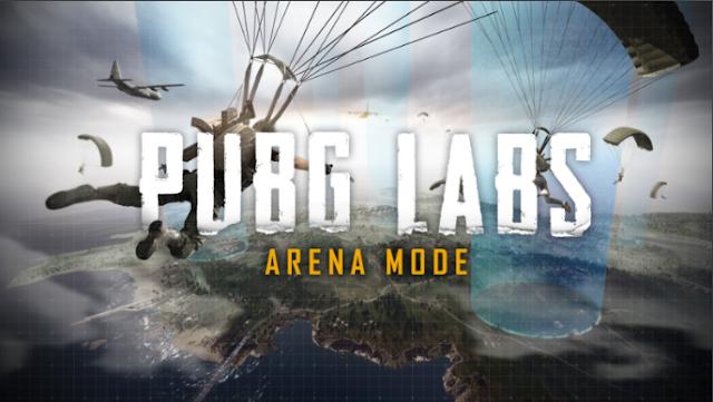 PUBG Labs: Arena mode