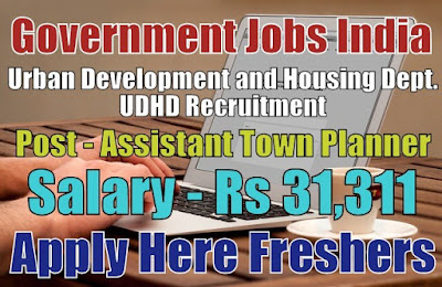 UDHD Recruitment 2019