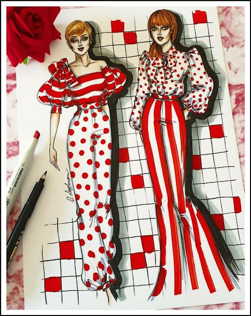 Fashion Illustrator Sveta Leyfman