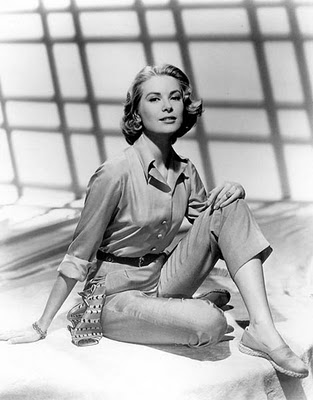 e1b7e5eac5eb Women in Trousers 2  A Brief History of Capri Pants Featuring Grace Kelly  and Audrey Hepburn