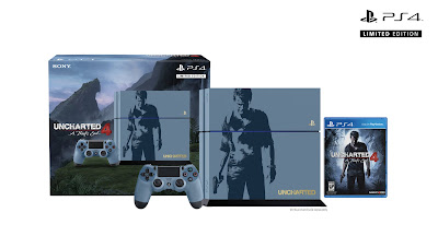 Grey Blue Uncharted 4 PS4 Limited Edition