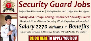 Requirement Security Guards Post Job Vacancy Global HR Consultancy For Abu Dhabi Location