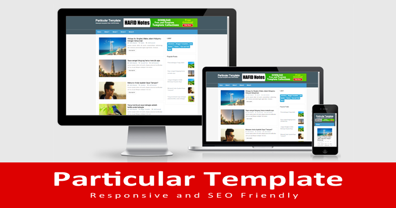 Particular Responsive Blogger Template | Blogger Templates Gallery
