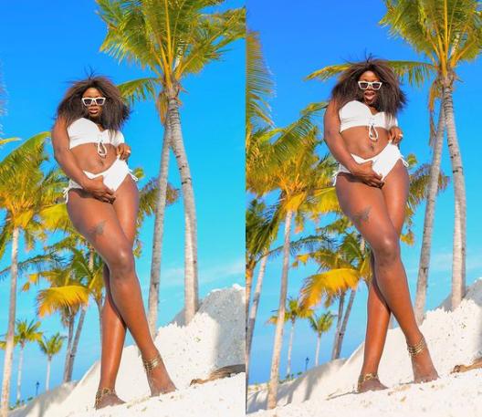 Realty TV star, Ka3na flaunts her bikini body in new photos