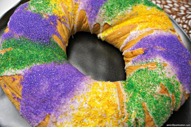 Colores del Mardi Gras