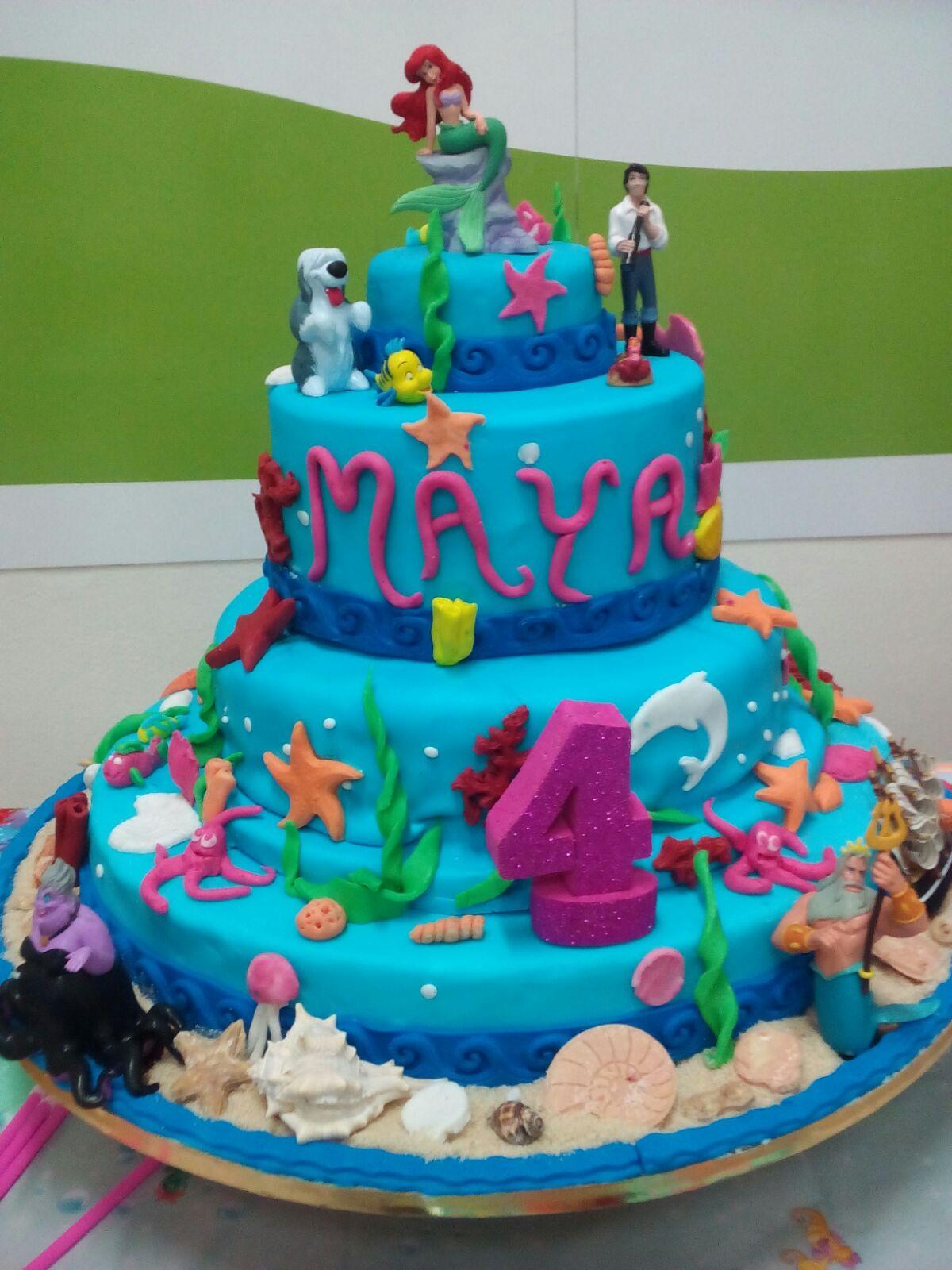 spesso Le mie torte: Torta Sirenetta Ariel KR32