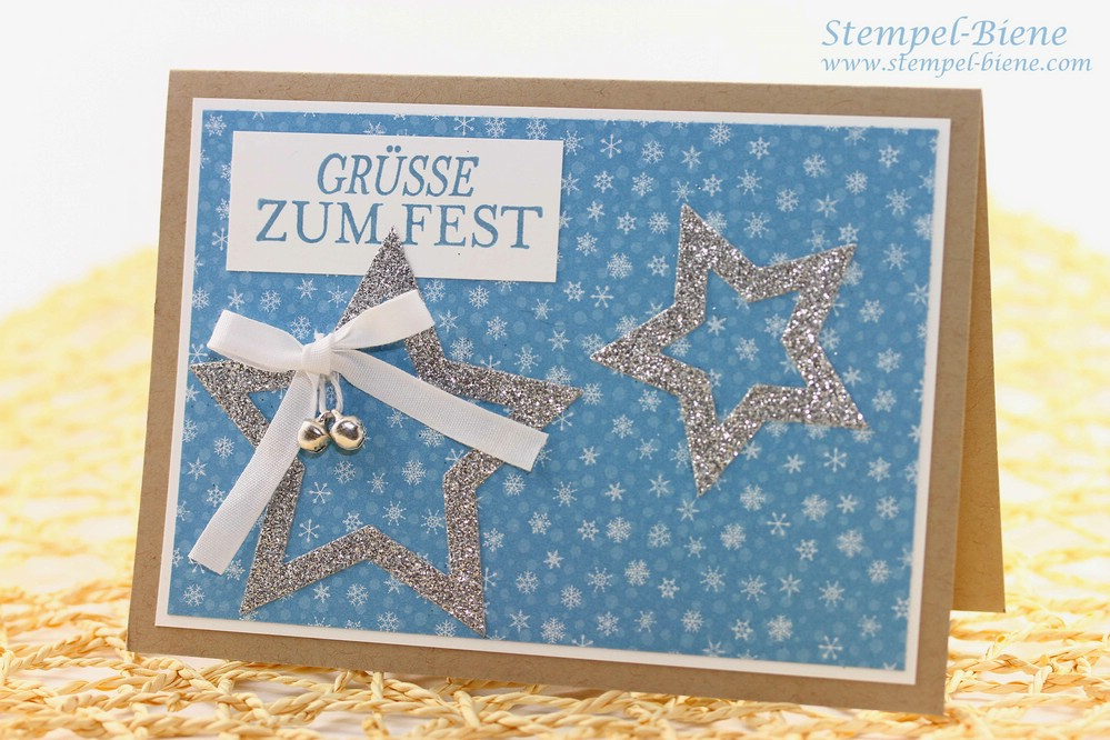 Stampin Up Weihnachtskarte, Stampin Up Weihnachtsmann und co, Stampin Up Winterkatalog, Stampin Up Weihnachtsworkshop, Stampin Up Sammelbestellung