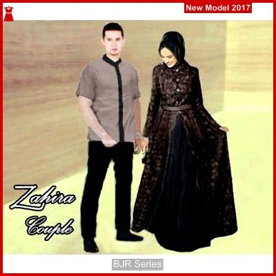 BJR093 E Baju Couple Zahira Murah Grosir BMG