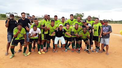 Aliança goleia Reviver e conquista campeonato do Coqueiro, em Mairi