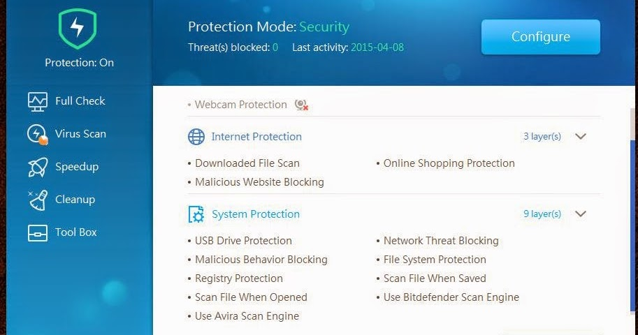DOWNLOAD: Qihoo 360 Total Security Essential 2017 - Review