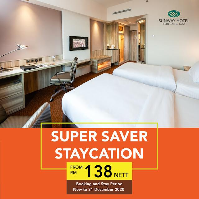 Sunway Hotel Seberang Jaya Penang Hotel Penang Super Saver Staycation  Malaysia Blogger Influencer